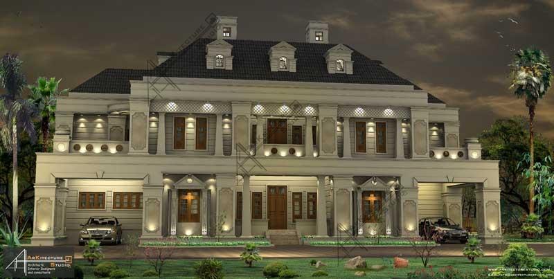 luxury kerala home design