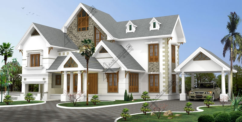 Arkitecture Studio,Architects,interior designers Calicut kerala.. 3300 sq ft luxury villa in kerala traditional style