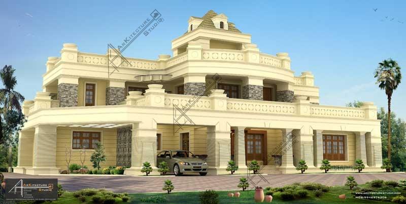 luxury indian home design