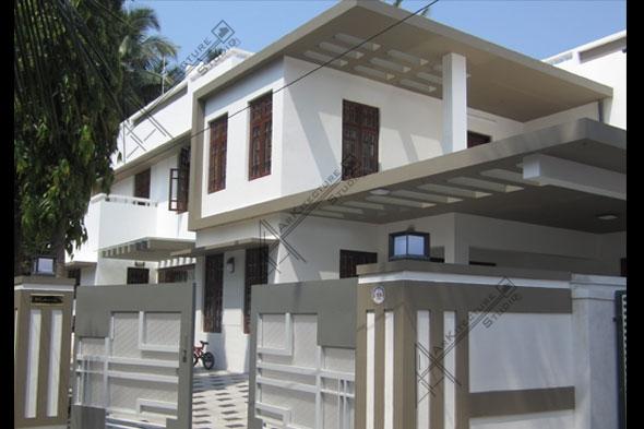 kerala home design, kerala home plan, Kozhikode home design,kerala villa design,Victorian style homes, Colonial style homes