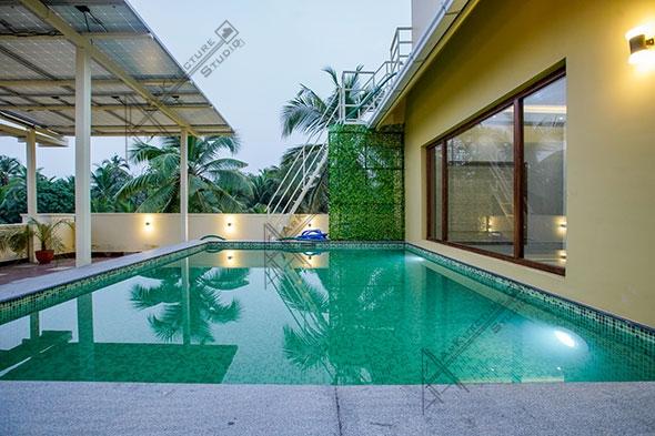 swimming pool design, Kerala homes, pool designs, Kerala  architecture